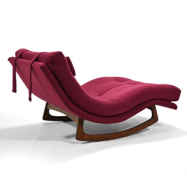 Craft Associates Adrian Pearsall Rocking Chaise by Craft Assoc. For Sale - Image 4 of 10