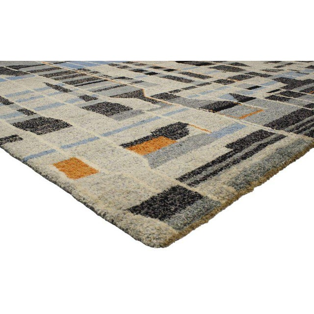 Highly stylish yet casually elegant, this contemporary Moroccan rug with modern design is ideal for nearly any fashionable...
