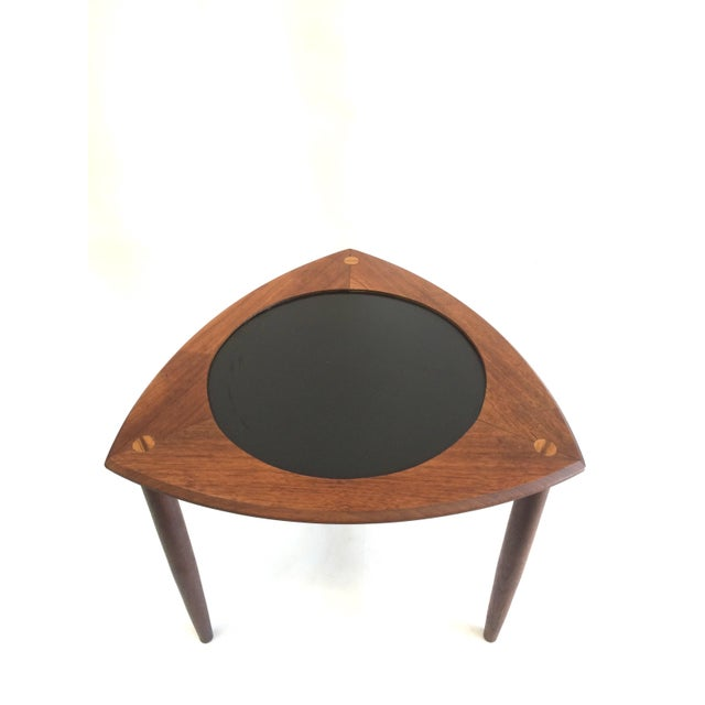 Danish Modern Accent Table - Image 2 of 6