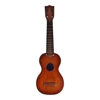 Early 1920's c.f. Martin Style 0 Mahogany Soprano Ukulele For Sale