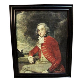 Reproduction Portrait of Captain William Bligh by Sir Joshua Reynolds For Sale