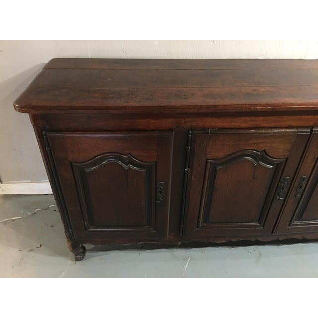 Late 18th Century Louis XV Period Buffet in Walnut For Sale - Image 5 of 13