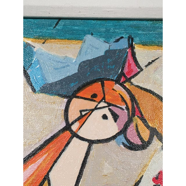 """Isaac Kahn's """"Pirouette""""- Framed Serigraph - Image 6 of 6"""