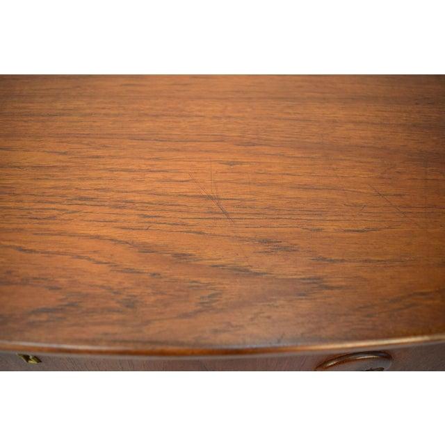 Kai Kristiansen Danish Teak Bow-Front Dresser - Image 10 of 11