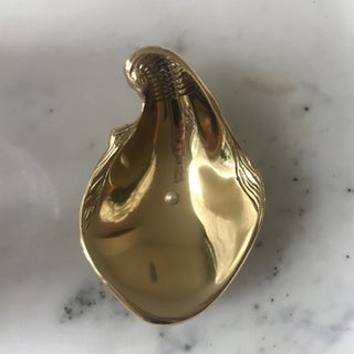 Gold Oyster Trinket Catchall Dish Preview