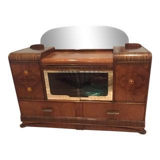 Art Deco Server & Bar For Sale
