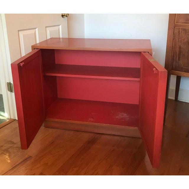 Altavista Lane Mid-Century J. Mont Style Cabinet For Sale - Image 4 of 7