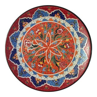 Turkish Handmade Decorative Porcelain Plate For Sale