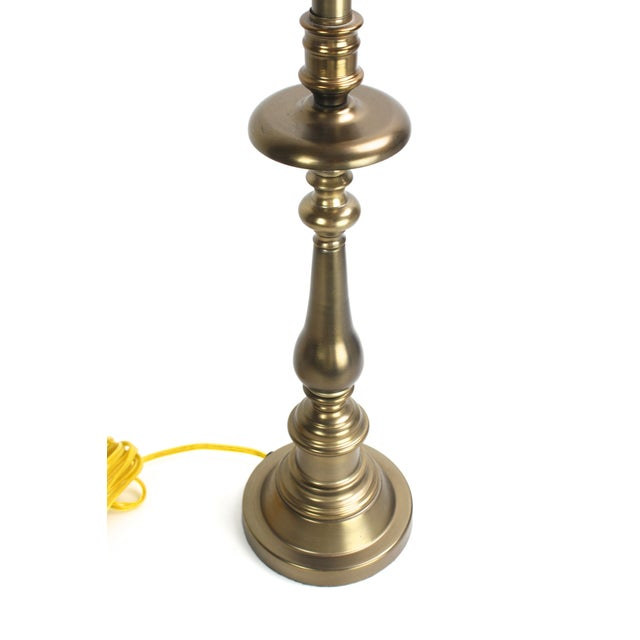 Stiffel Brass Candlestick Table Lamp - Image 5 of 7