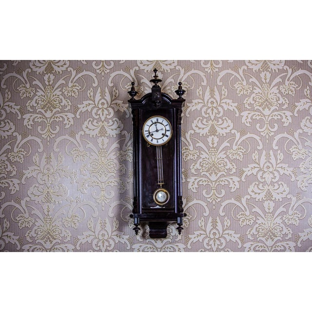 19th-Century Louis Philippe Wall Clock For Sale - Image 9 of 10