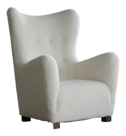 Image of Contemporary Wingback Chairs
