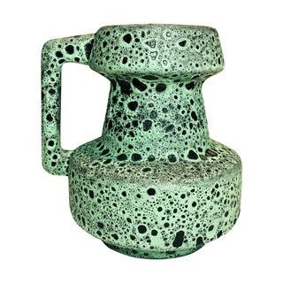 West German Fat Lava Vase Mug