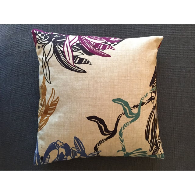 Boho Chic Missoni Home Designer Mezewele Throw Pillow For Sale - Image 3 of 11