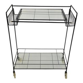 Mid Century Bar Cart Umanoff
