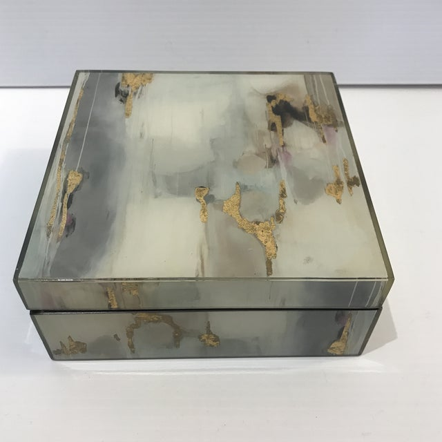Abstract Acrylic Paint Box For Sale In Palm Springs - Image 6 of 6