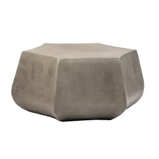 Bloom Concrete Coffee Table For Sale