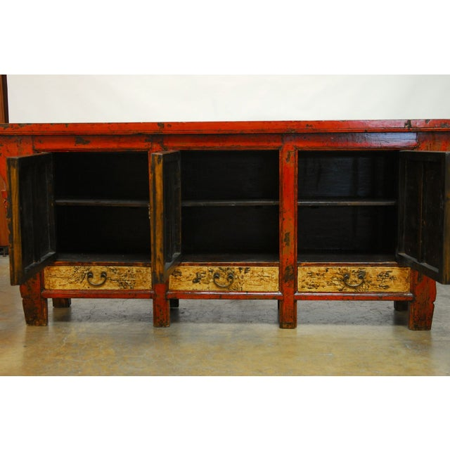 19th Century Chinese Server Sideboard Buffet For Sale In San Francisco - Image 6 of 9
