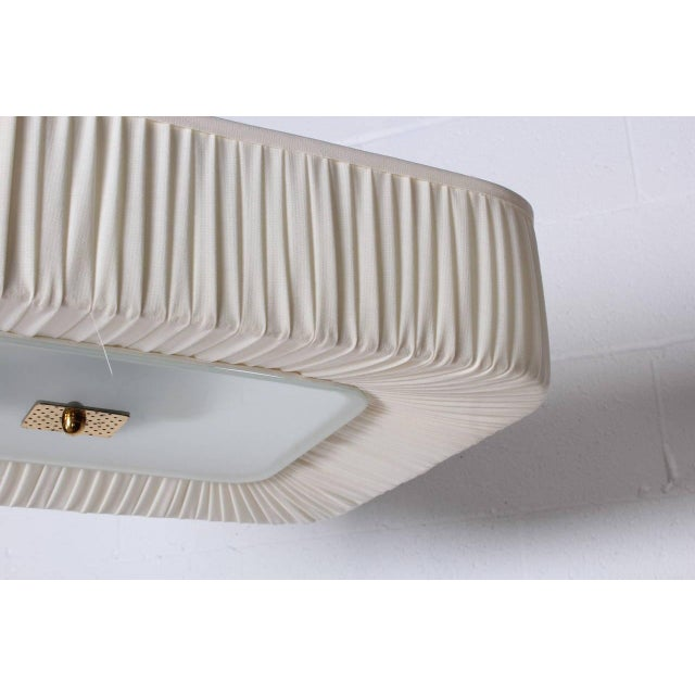 Flush Mount Light Fixture by Paavo Tynell for Idman - Image 7 of 10