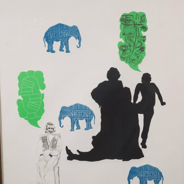 """""""The Dream"""" Lithograph Printed in Colors, Depicting Jungle Scenes, 1968 For Sale In New York - Image 6 of 11"""