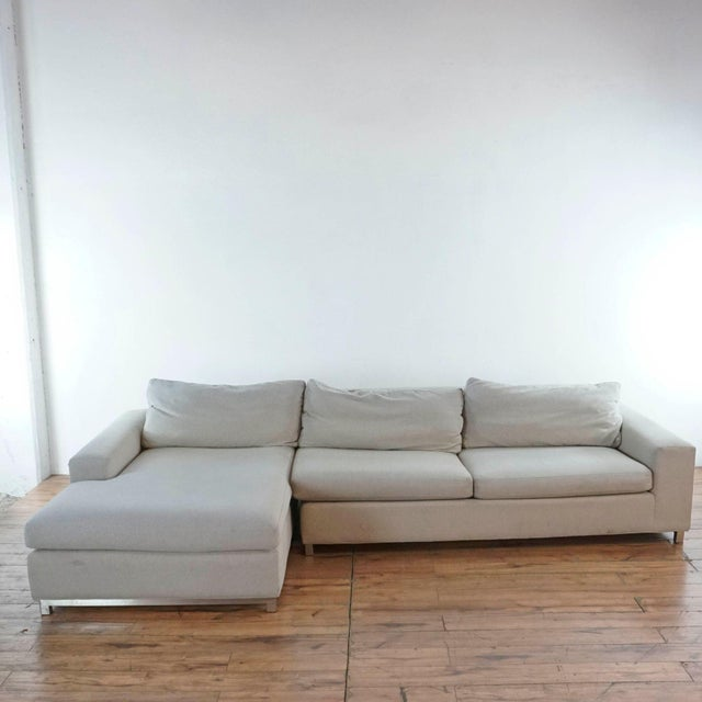 Room & Board Upholstered Sectional Sofa For Sale - Image 11 of 11