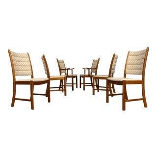 Johannes Andersen for Uldum Vintage Teak Dining Chairs - Set of 6 For Sale