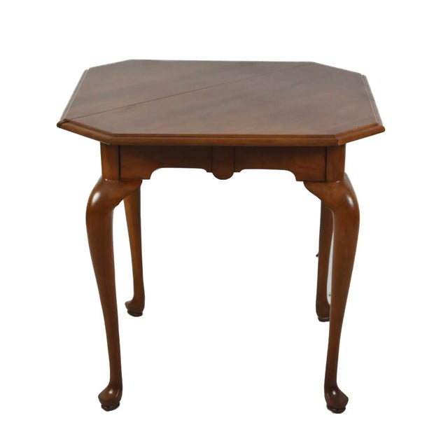 Henkel Harris Napkin Drop Leaf Accent End Occasional Table Cherry #24 Style 5610 For Sale - Image 6 of 6