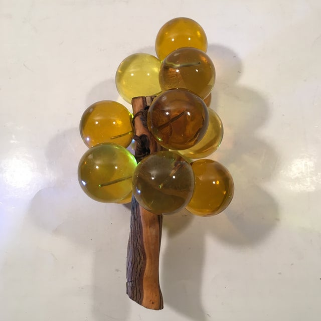 Amber Lucite Grapes - Image 8 of 8