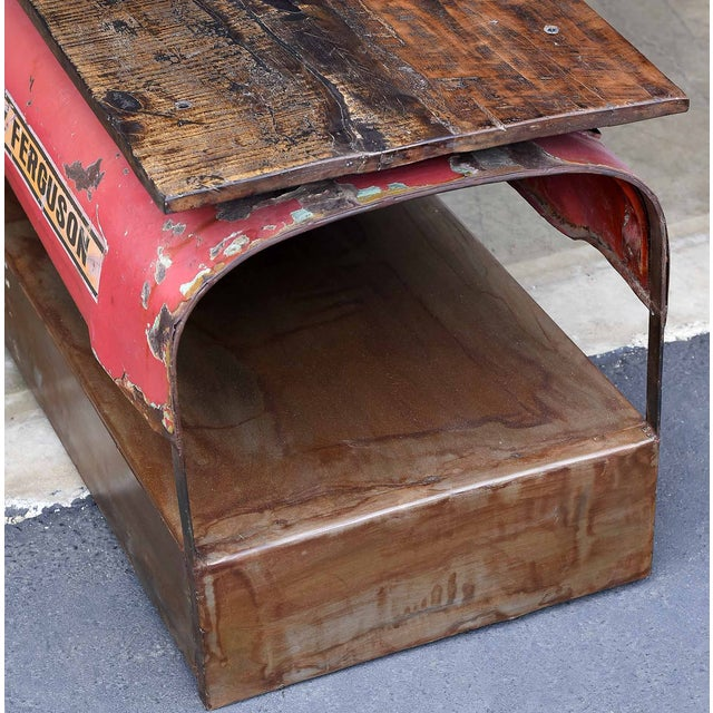 Vintage Tractor Coffee Table - Image 4 of 4