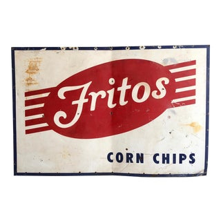 Vintage Fritos Advertising Sign