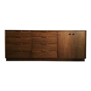 Mid Century Modern American of Martinsville Triple Dresser For Sale