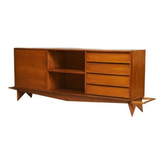 Carlo Hauner and Martin Eisler Credenza For Sale