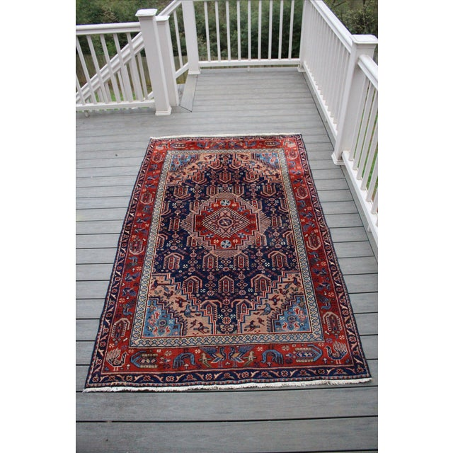 "Vintage Anatolian Turkish Rug - 4'8"" x 7'11"" - Image 2 of 6"