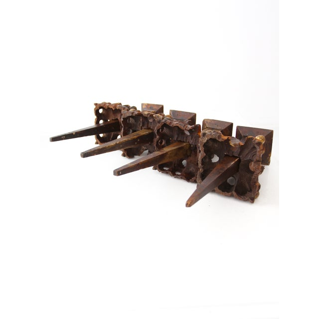 Antique Music Organ Instrument Parts - 4 For Sale - Image 4 of 8