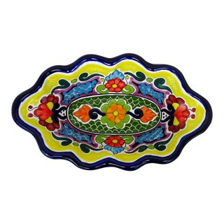 Mexican Hand Painted Ceramic Bowl