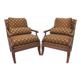 """Image of Ethan Allen Regency """"Roma"""" Chairs - A Pair For Sale"""