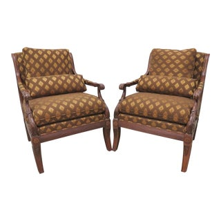 "Ethan Allen Regency ""Roma"" Chairs - A Pair For Sale"