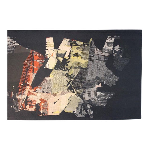 "Large Tapestry by Mathieu Matégot ""Fiction"" For Sale"