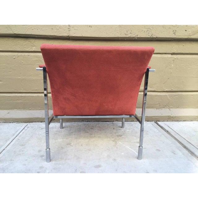 Saporiti Pair of Saporiti Lounge Chairs For Sale - Image 4 of 6