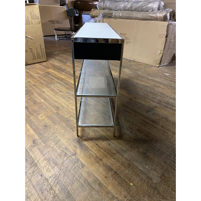Contemporary Contemporary Mitchell Gold Manning Console Table For Sale - Image 3 of 4