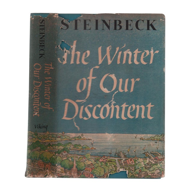 """1961 """"First Edition, Winter of Our Discontent"""" Collectible Book For Sale"""