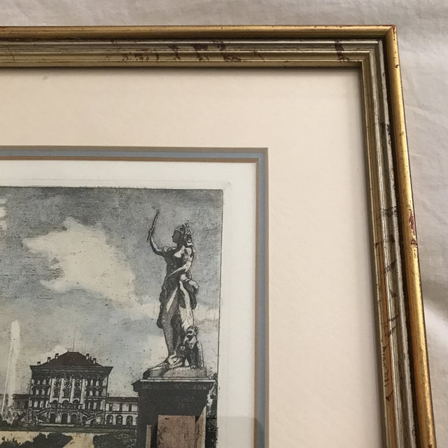 Framed Scenic European Prints - A Pair - Image 6 of 9