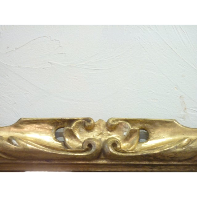 19th C. Italian Carved Giltwood Mirror - Image 3 of 6