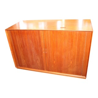 Mid-Century Modern Povl Dineson Danish Stereo Cabinet For Sale