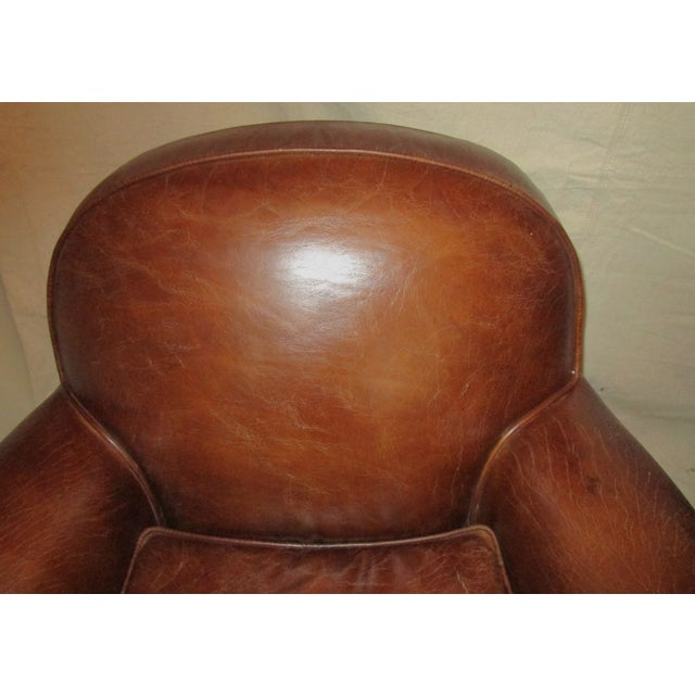 Leather Club Chairs - Pair - Image 5 of 5