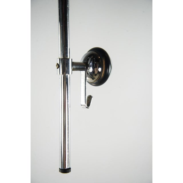 Italian Mid-Century Modern Chrome & Black Hat Stand - Image 5 of 10
