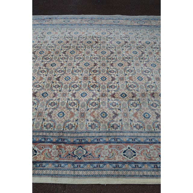 "Karastan #789 Herati 8'8"" x 12' Room Size Rug For Sale - Image 10 of 13"