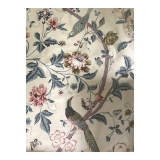 """Cotton Chintz Titley & Marr """"Paradiso"""" Fabric - 3 Yards For Sale"""