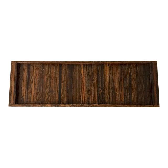 Don Shoemaker Senal Wood Tray For Sale