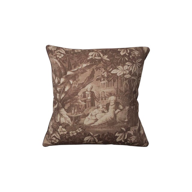 Traditional Harem Scenes Print Pillow For Sale
