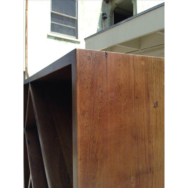 Diagonally Slanted Standing Bookshelf - Image 5 of 5